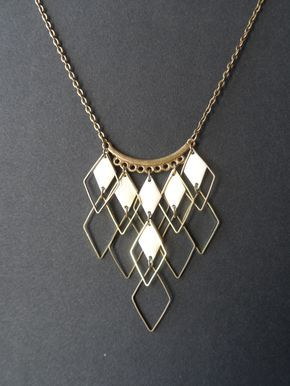 Collier metal tendance