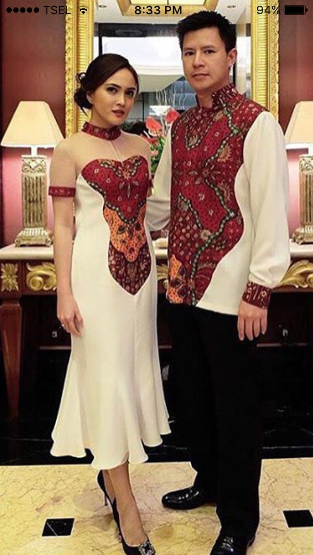 Batik Couple Luv Batik Indonesia Batik Couple Batik Dress