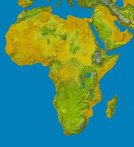 Maps of Africa  Geography Geography activities and Homeschool