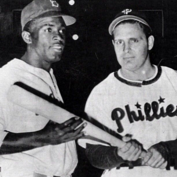 9045c2abbe0 42 Jackie Robinson and Phillies manager Ben Chapman in 1947.