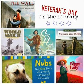 Multi level books and video clips for Veteran's Day