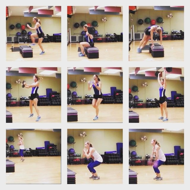 Cardio Interval: Each Block Is 5 Exercises 30 Secs Each