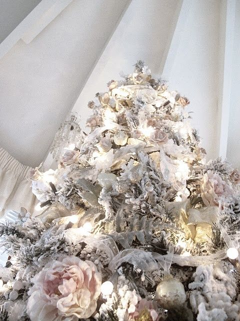 Best Shabby Chic Christmas Pictures Shingle Cottage 400 x 300