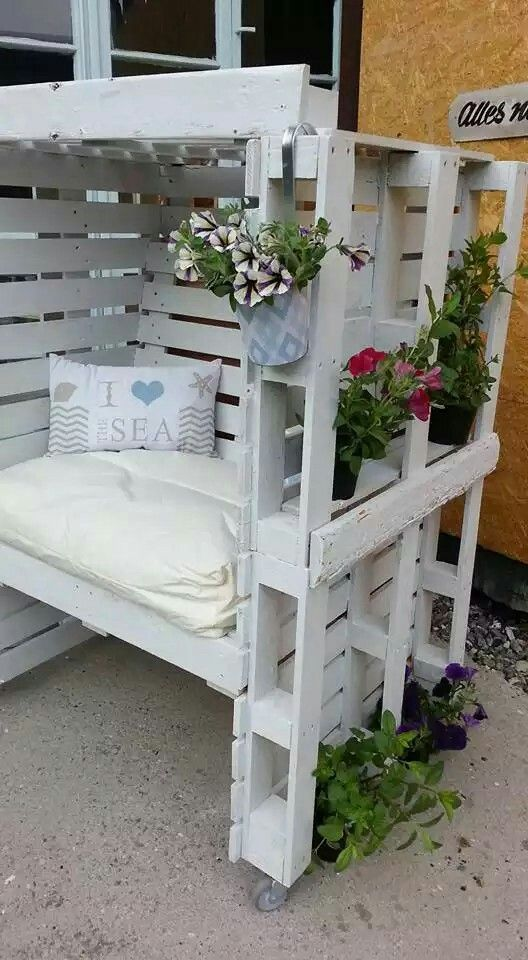 Pin by Varida Conception on Garden pallet | Pinterest | Meuble ...