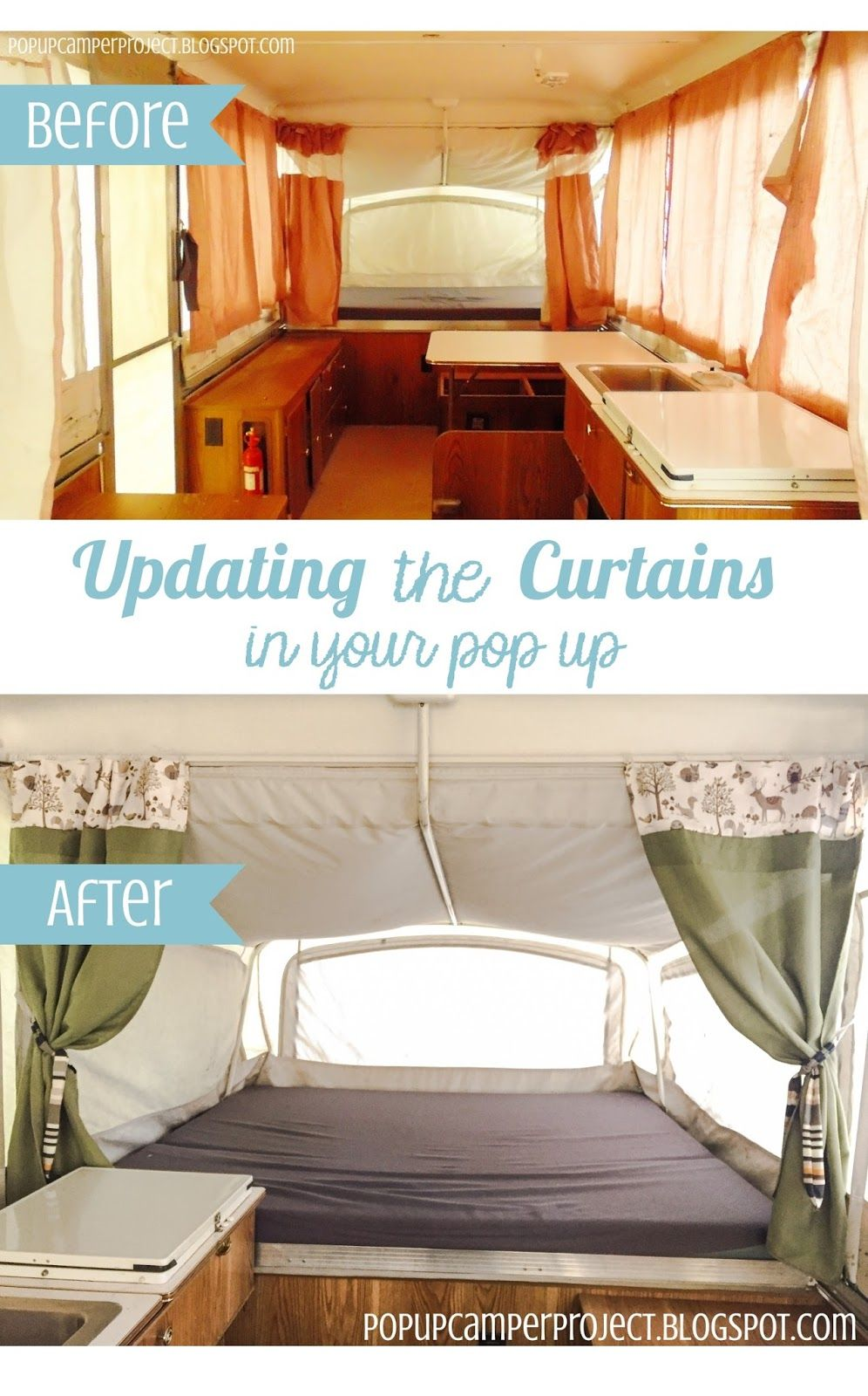 Retro camper curtains - Find This Pin And More On Camper Makeover