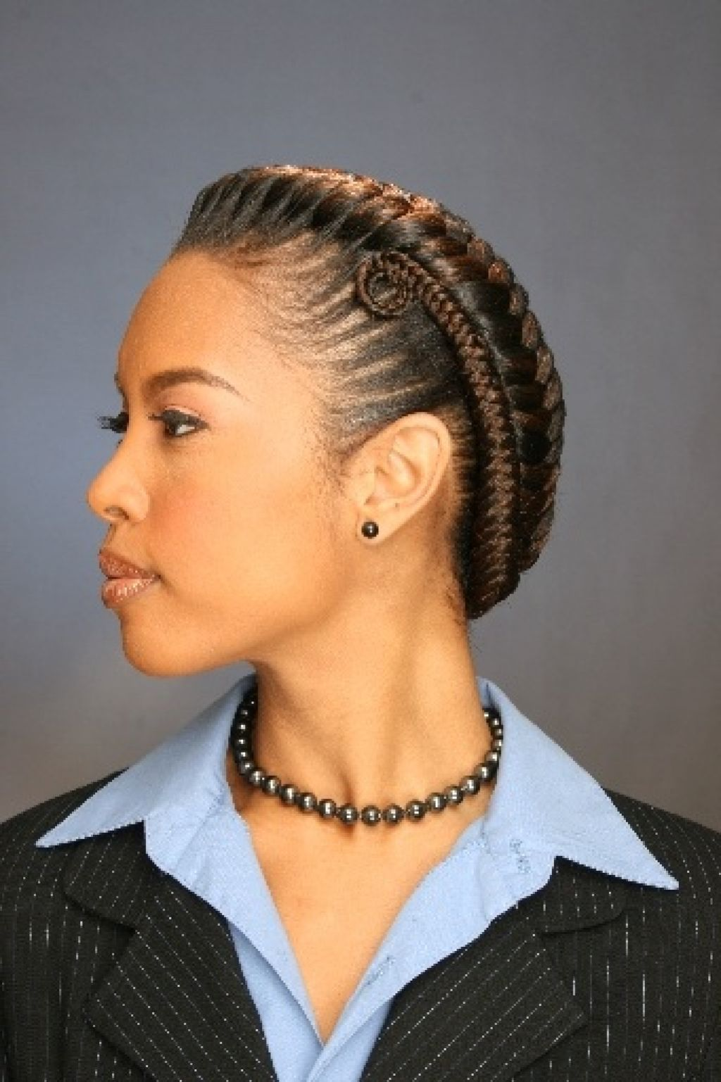 Admirable Goddess Braids Hairstyles For Black Women Hair Pinterest Hairstyles For Women Draintrainus