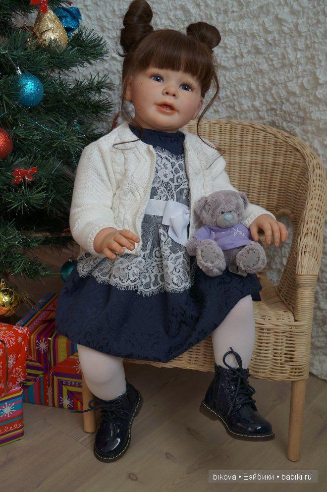 Машенька- новогодний подарочек, кукла реборн Натальи Кудрявцевой / Куклы Реборн Беби - фото, изготовление своими руками. Reborn Baby doll - оцените мастерство / Бэйбики. Куклы фото. Одежда для кукол