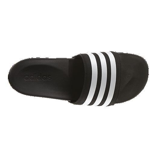 e7903e2d1 adidas Men s Adilette SuperCloud Plus Sandals - Black White ...