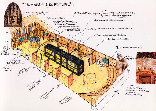 """Architetto Giusto Puri Purini: """"Memoria del Futuro""""Mostra al Maschio Angioino, Na..."""