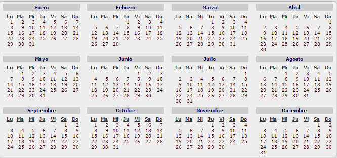 666 313 calendario 2018 ar pinterest for Ministerio del interior argentina
