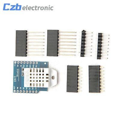 D1 Mini Wemos DHT22 AM2302 Temperature and Humidity Sensor Shield Module