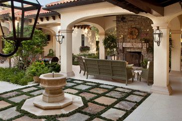 Odessa House   Mediterranean   Patio   Tampa   Gage Martin Interiors