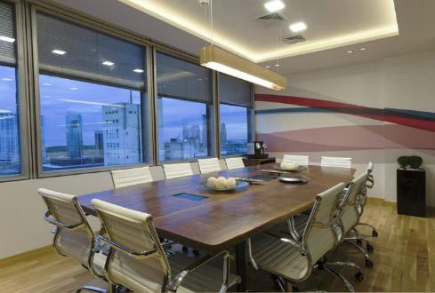 Dise o de oficinas para empresas de software unitech in s calamante decoracion e interiorismo - Empresas de interiorismo ...