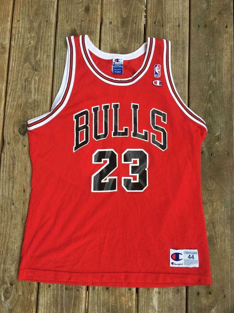 be228315501 NBA Chicago Bulls Michael Jordan Champion Jersey