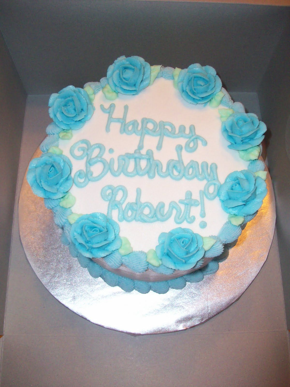 Mum Th Birthday Cake Teal Purple