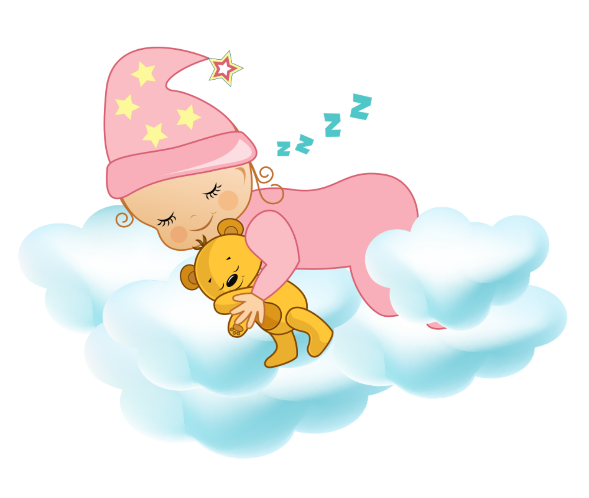 freetoeditftestickers clipart baby cloud nighttime