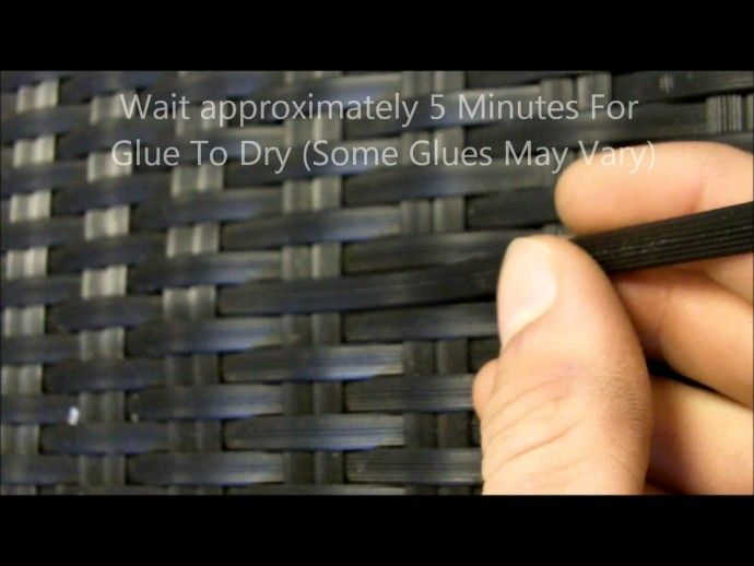 Plastic Wicker Patio Furniture Repair