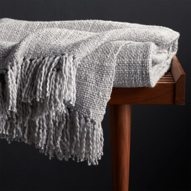 Styles Dove Fringe Throw Blanket Reviews Crate And Barrel Grey Throw Blanket Blanket