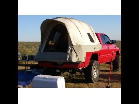 Kodiak Canvas Tent 7218 For 8-Ft Truck Bed - Free Cargo Net Included