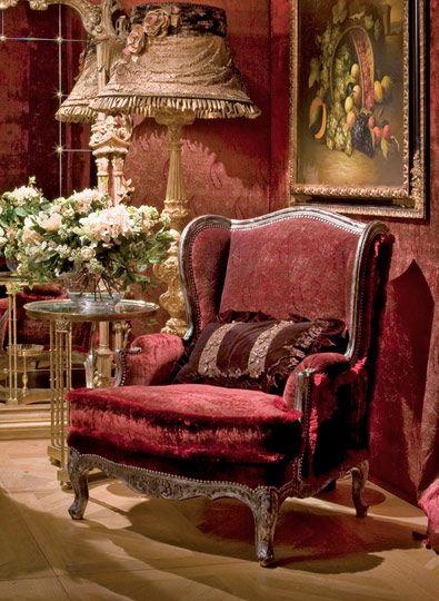Fontaine Sessel Die Klassischen Italienischen Möbel Provasi... Klassisch  ItalienischItalienische ...