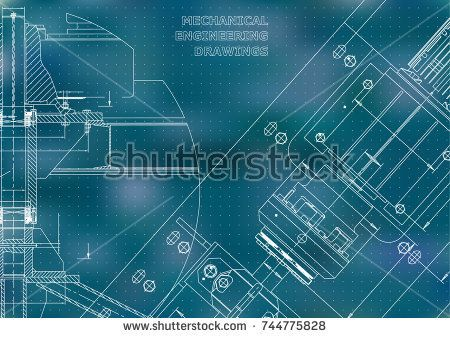 Mechanical engineering drawings technical design instrument making mechanical engineering drawings technical design instrument making blueprints blue background points malvernweather Choice Image
