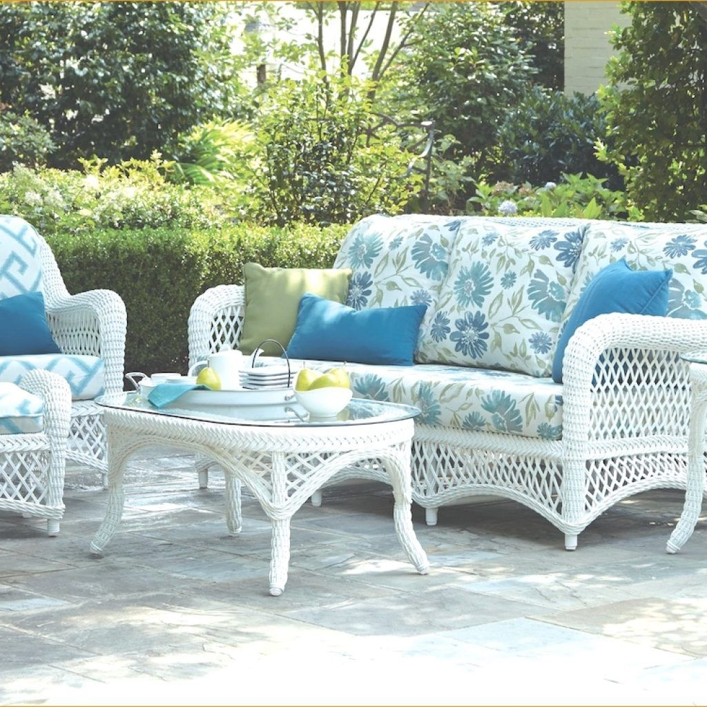 White Wicker Patio Furniture Patio Ideas White Wicker Patio