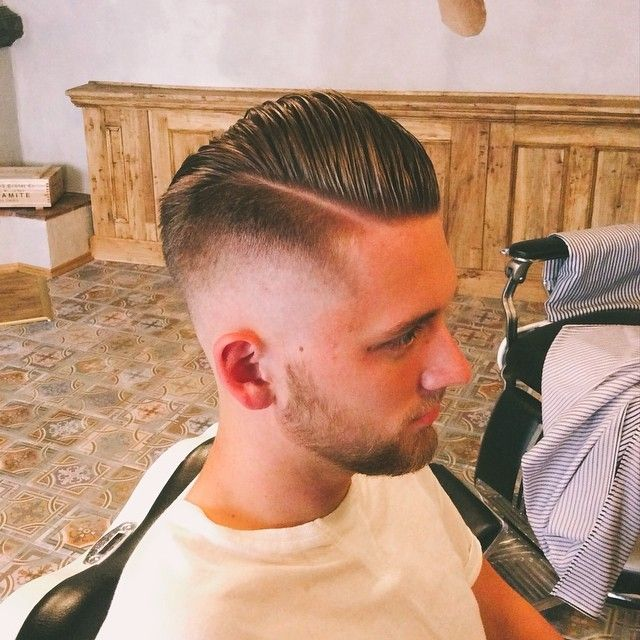 Pomade Hairstyles Amazing Razor Fade Like A Scumbag #barber #barberlife #barbergang #pomade