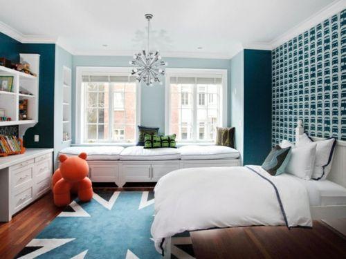 farbgestaltung f rs jugendzimmer 100 deko und einrichtungsideen zimmer britisch teppich mus. Black Bedroom Furniture Sets. Home Design Ideas