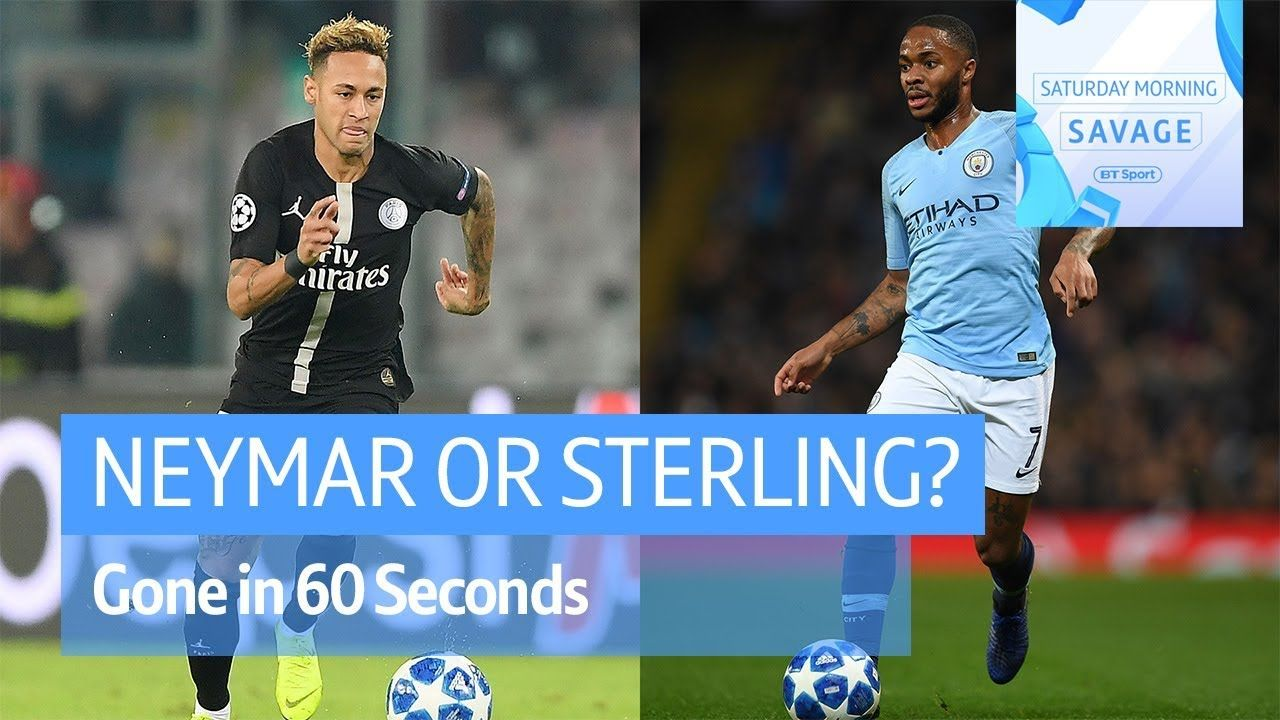 Gone in 60 Seconds Sterling or Neymar? Jose Mourinho and