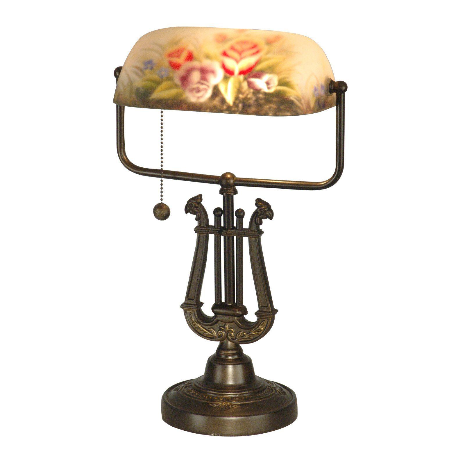 Dale Tiffany Kieler Hand Painted Table Lamp