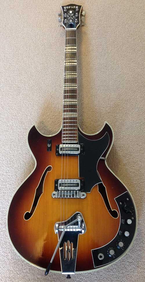George Smith S Hofner 4578 Vtz Semi Acoustic Guitar Semi Acoustic Guitar Guitar Archtop Guitar