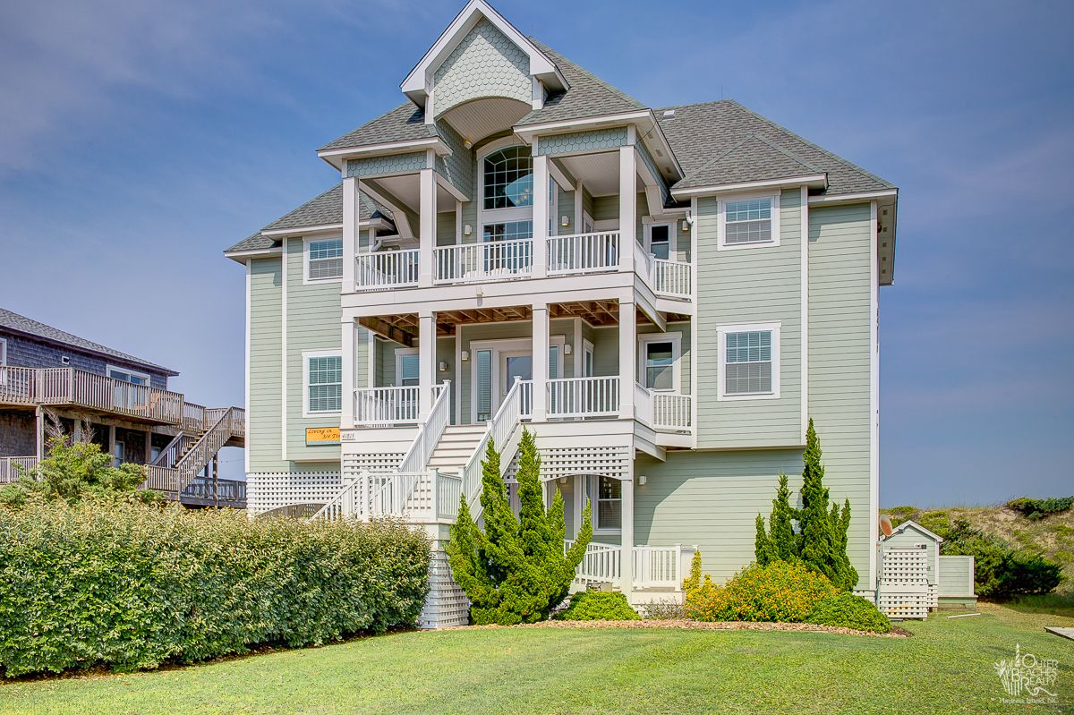nc cottages on pin island outer rentals hatteras vacation banks obx