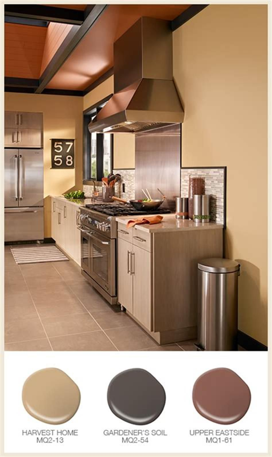 46 most popular kitchen color schemes trends 2019 on good wall colors for kitchens id=28867