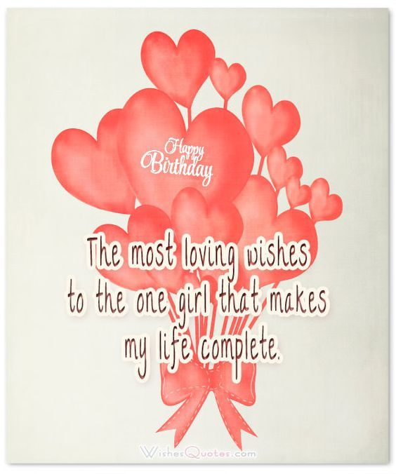 Girlfriend Birthday Greeting Card For My Lovely On Your