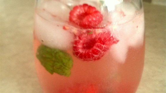 Fresh Raspberry Mojito #raspberryvodka