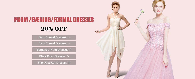 formal dresses banner
