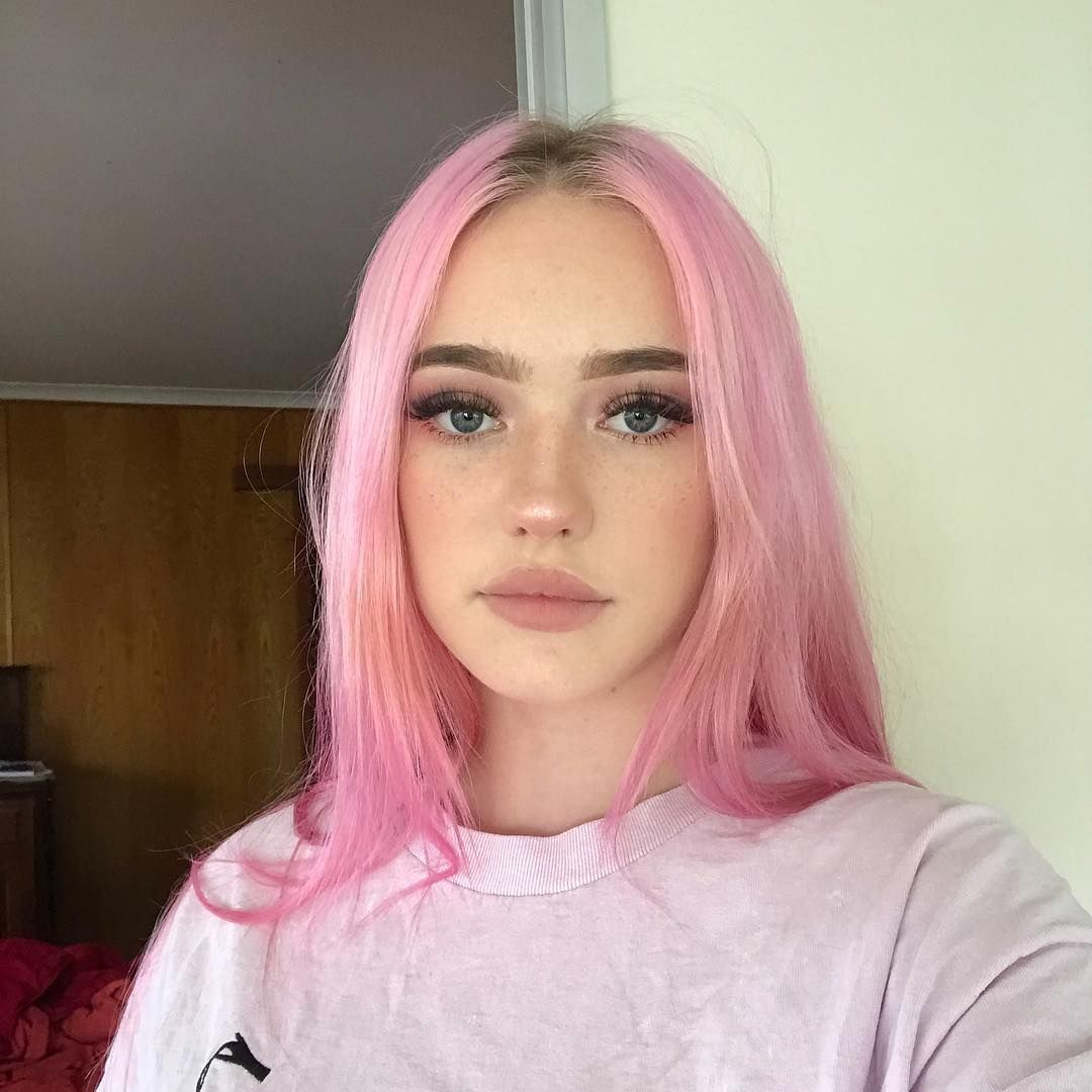 Lil Peach On Instagram Pink Spaghetti Pink Hair Light Pink Hair Cool Hair Color