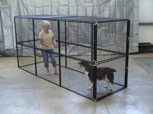 Dog Kennel Cat Cage Fencing 4 X12 X6 With Top Mesh Panels Large Cat Cage Cat Cages Dog Kennel