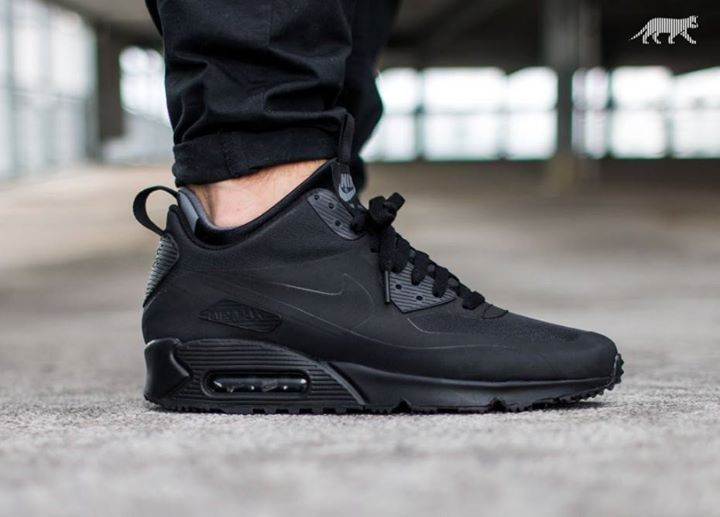Great OTF Shot of the Nike Air Max 90 Utility Black. Available Now. http