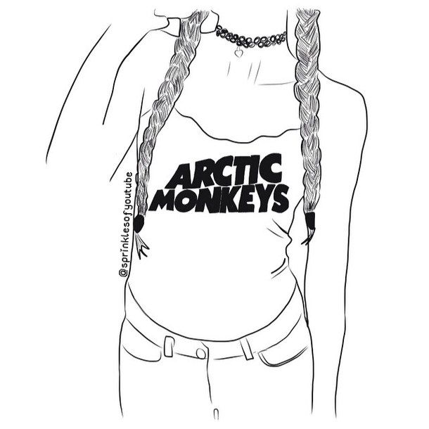 Aesthetic Aesthetics Art Artic Monkeys Band Bands Cute Draw