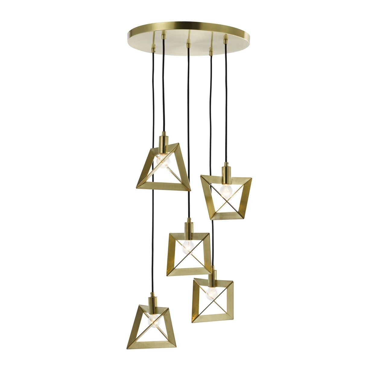 An undeniable statement piece, this ceiling light will add ...