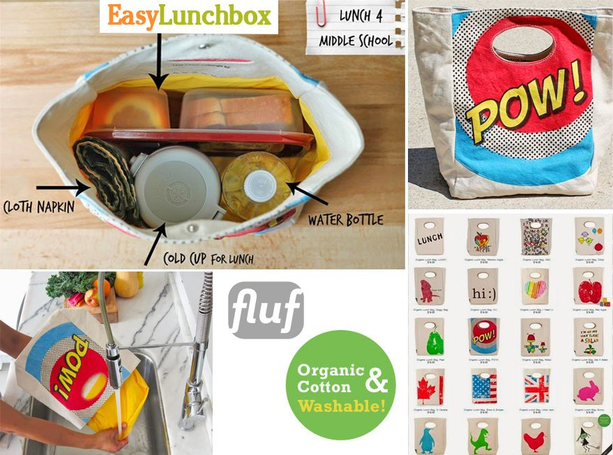 Fluf Lunch Bags Fit Easylunchbo Containers