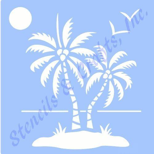 """4 1//2/"""" SEAHORSE STENCIL STENCILS TEMPLATE TEMPLATES BEACH SEA MARINE OCEAN NEW"""