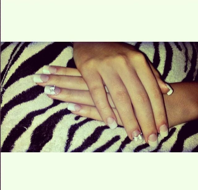 Miss my acrylic nails