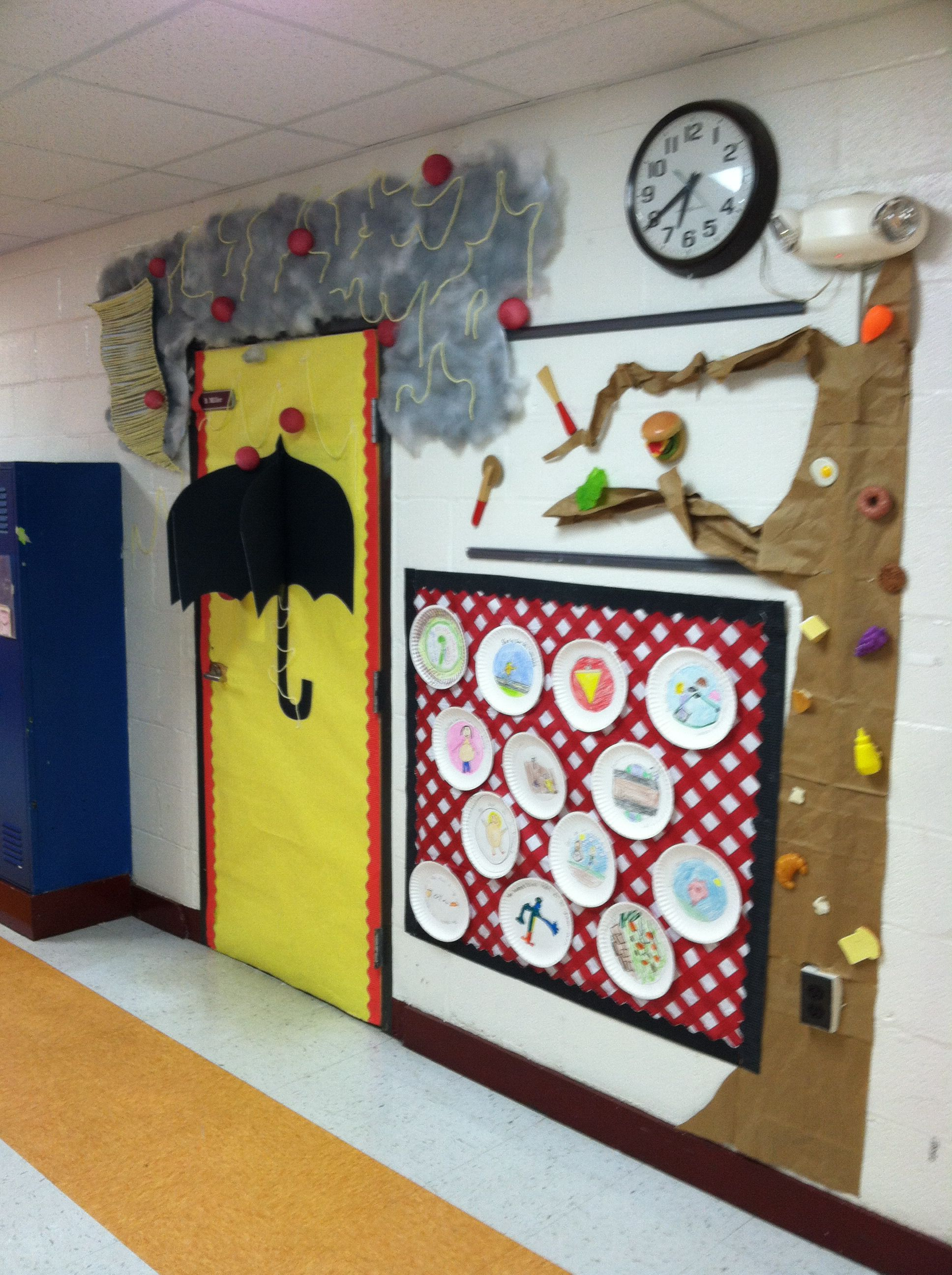 Cloudy With A Chance Of Meatballs Door Decorations