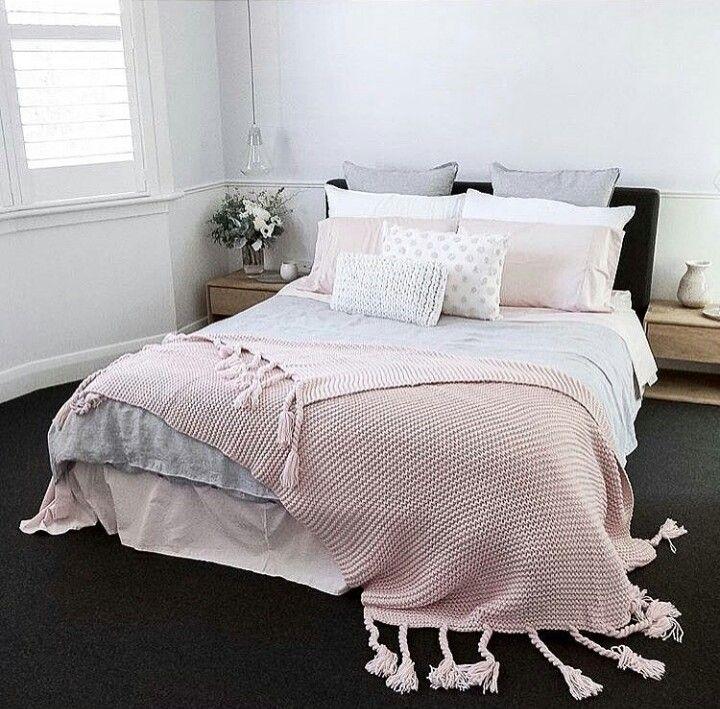 Chambres déco de chambre idées déco pour la chambre chambre pastel consolateur aménagement de salle de bains idées de garnison conception de meubles