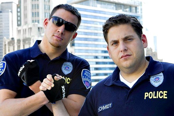 Channing and Jonah Hill