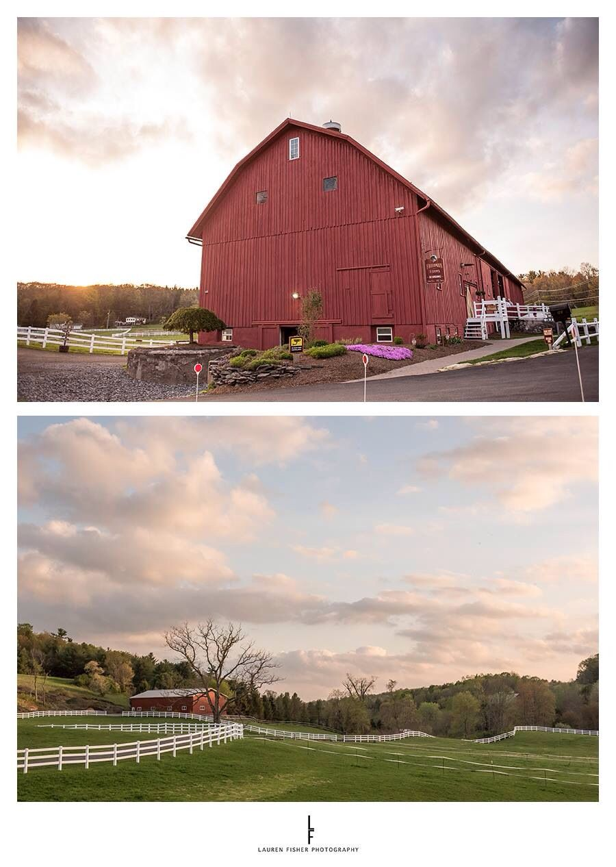 Friedman farms barn wedding in Dallas, PA.  Lauren Fisher photography
