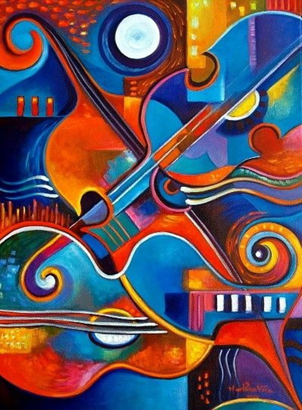 75 examples and tips about abstract painting art design