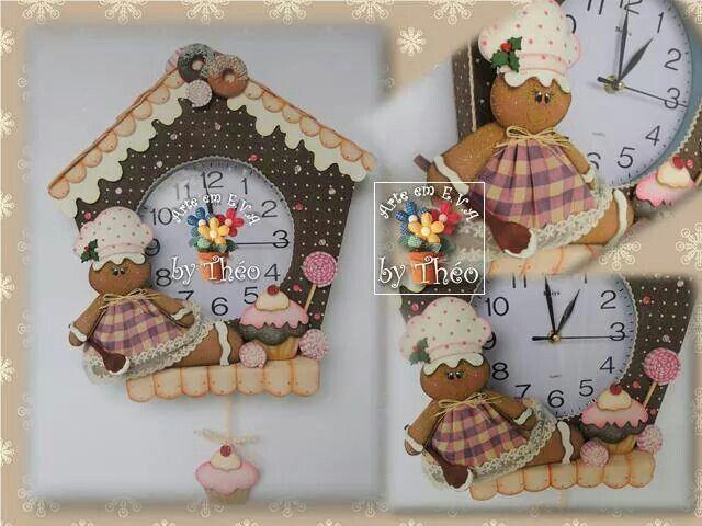 Con un reloj basico y tu imaginacion suficiente para tener for Reloj de cocina original